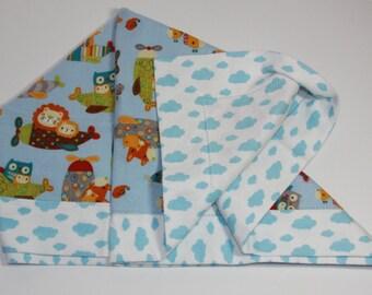 Cotton Flannel Baby Recieving Blanket
