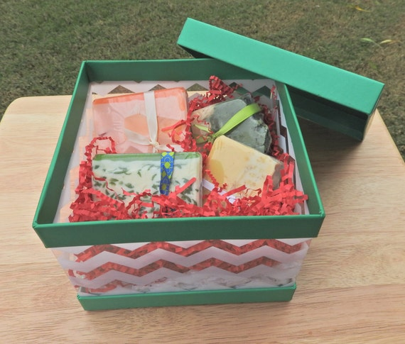 Handmade Soap Baskets : Soap baskets handmade basket gift set