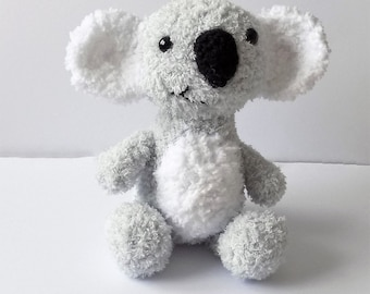 Bear the Fluffy Koala  **Crochet pattern only**