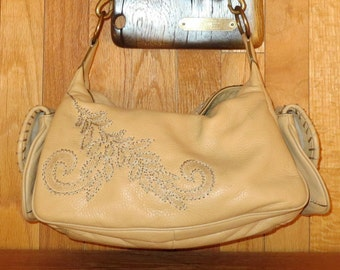 Spring Sale Cole Haan Light Tan Hobo Style Shoulder Bag- Excellent Used Condition