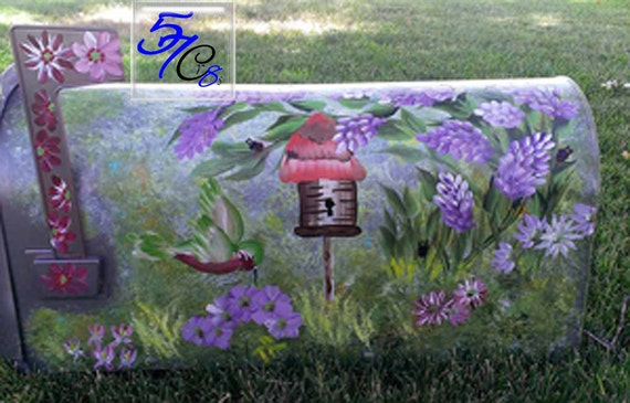 Garden tool box mailbox rural mailbox decorative by - Unique mailboxes for rural ...