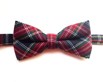 Mens bowtie, Boys bowtie, Adjuster bowtie ,Pre-tied Bowtie. Kids bowties, Gifts for him, Tartan plaid, Gifts under 15, Fathers day gifit