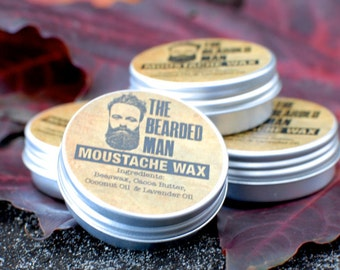 Moustache Wax - Lavender scented