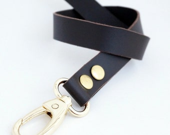 2,5 cm/ 0.98 inches strap from Genuine Dark Brown Leather with gold, bronze or nickel hooks, leather, purse straps, anses cuir