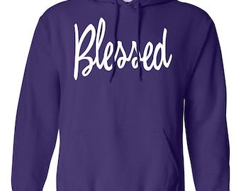 Blessed. Women's Hooded Sweatshirt. Southern Element Apparel. Southern Sweatshirt/Hoodie