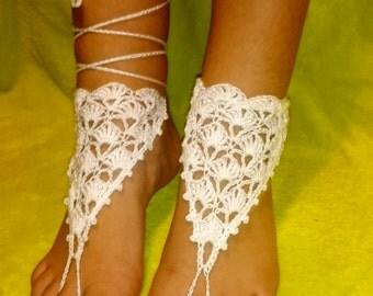 Barefoot Sandals Crochet Ref: S09