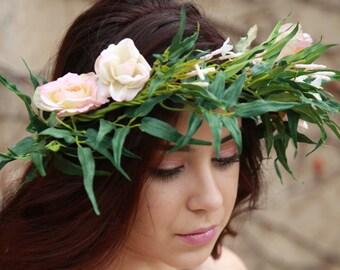 Fantasy Floral Crown
