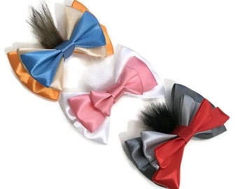Aristocats Marie Toulouse Berlioz Disney Character Inspired Hair Bows