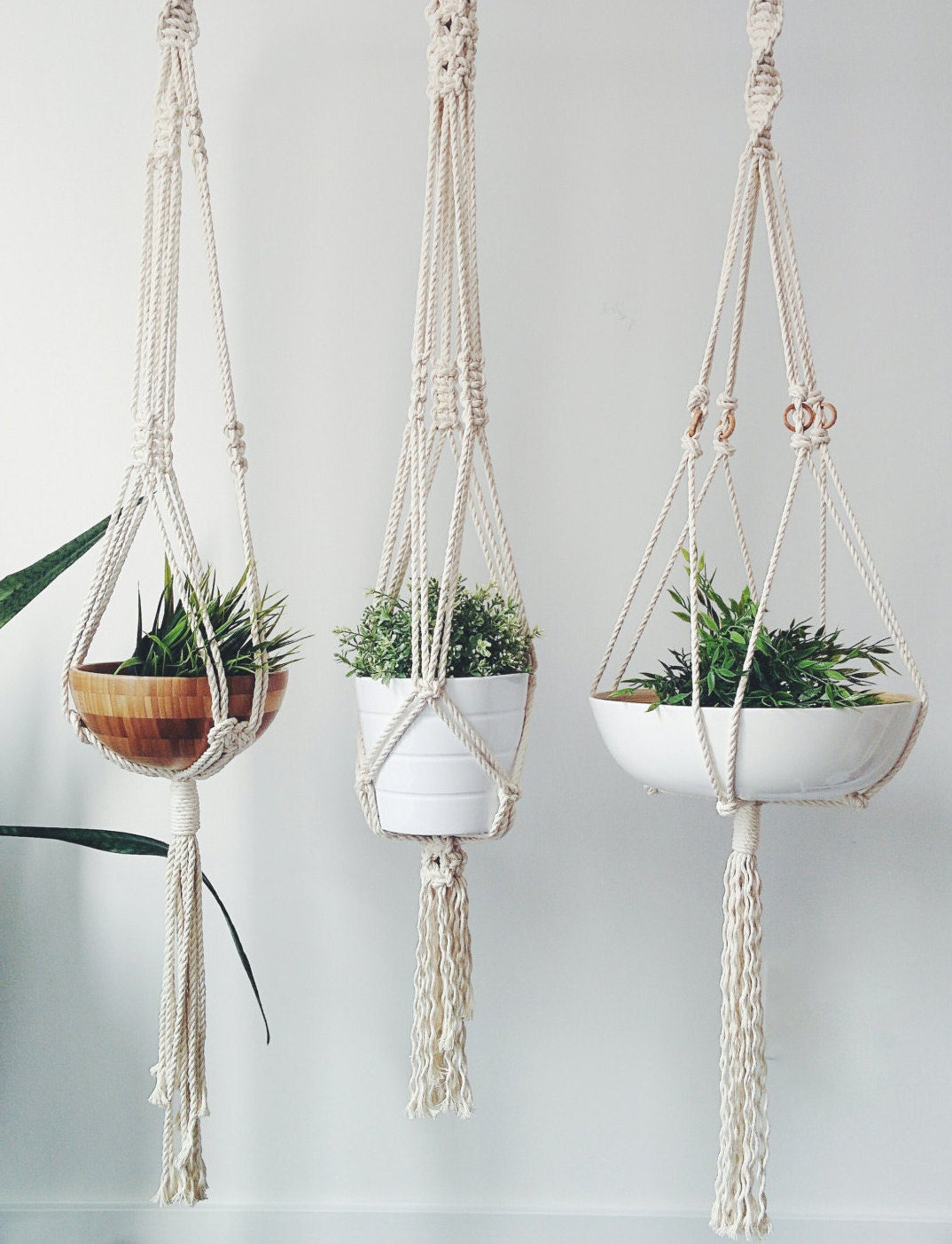 how to make a macrame plant hanger macrame plant hanger 2740
