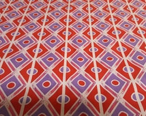 Red Hat Society Coordinating Fabric - Out of Print & Hard to Find ~ Sold by the Half Yard, Marcus Brothers Fabrics, 100% Cotton