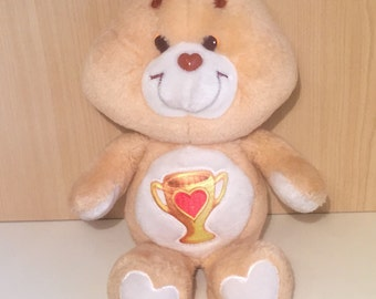 1983 Original Champ Care Bear by Kenner