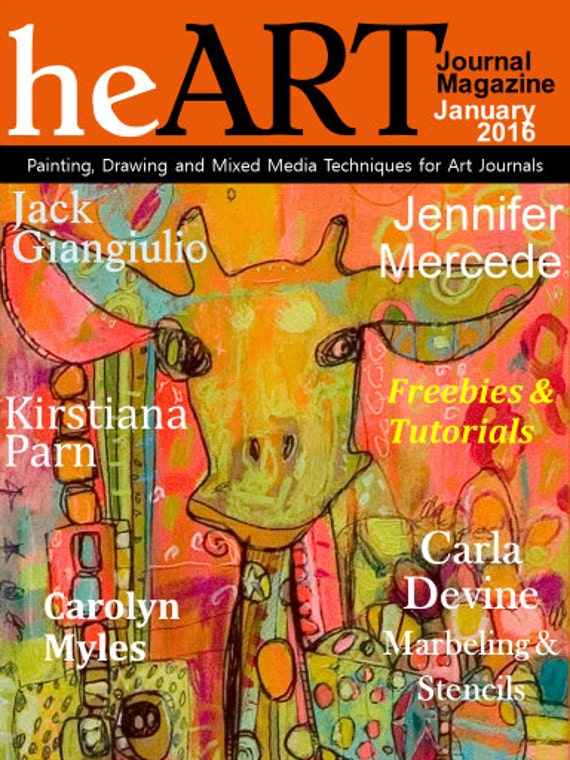 Jan 2016 heART Journal Magazine