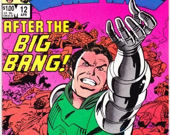 Secret Wars 12. Avengers comic book, X-Men, xmen, Captain America, Spiderman, Venom, Fantastic Four. 1984, Marvel Super Heroes in NM (9.4)