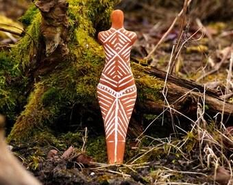 Venus Cucuteni Neolithic Goddess Great Mother Figurine Female  Venus Replica Sculpture