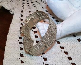Filigree 835 Art Nouveau bracelet 1900 SA121