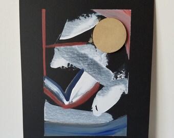 "Mixed Media Painting "" Texture 3"""