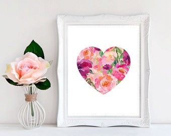 Heart Wall Decor heart wall decor | etsy