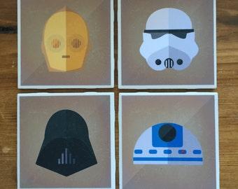 Star Wars Coasters - Series B