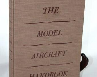 1941 The Model Aircraft Handbook -- William Winter/Thomas Crowell -- Balsa, Gas Engine, Radio Control, Model Airplane, Kit, WW II -- 1940's