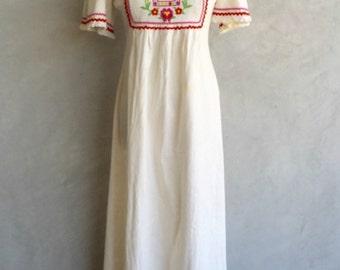 1970's Boehmian Dress