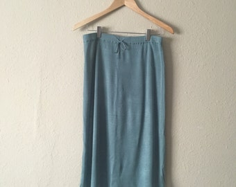Smoky Blue Skirt