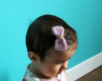 Barrettes curly hair red, pink, grey for woman, child or baby
