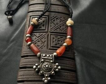 BERBER CROSS,BOGHDAD,Berber silver, ethnic jewelry,African jewelry,Moroccan jewelry