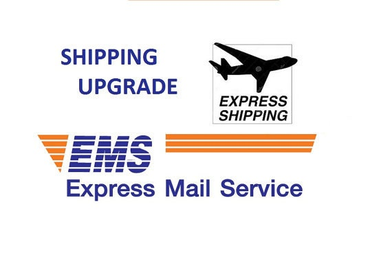 ems express mail service upgrade from imperiallace on etsy studio. Black Bedroom Furniture Sets. Home Design Ideas