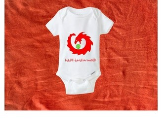 Dungeons and Dragons Bodysuit. Baby gift. Future dungeon master. DnD. Baby bodysuit. Baby clothes. Newborn outfit. Baby shower gift.