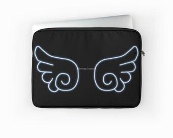 Chibi Angel Wings Laptop Sleeve! Multiple Sizes Available!