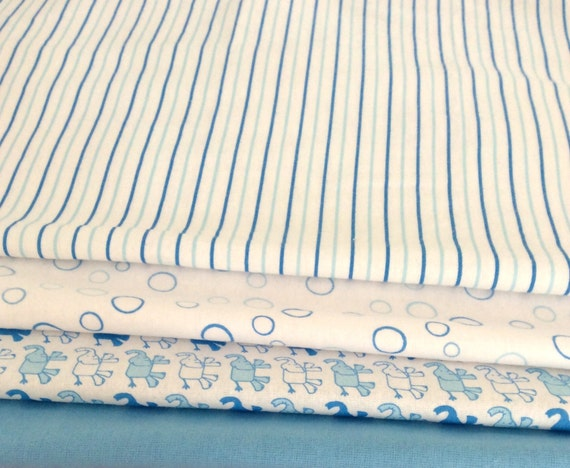 Blue Candy Stripe Pattern, Soft Baby Wrap, Blanket, Swaddle 100 cm x 120 cm, 100% Cotton