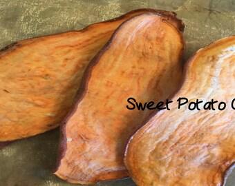 Sweet Potato Dog Chews -  Dog Treats- Rawhide Alternative - 1/2 Pound of Chews