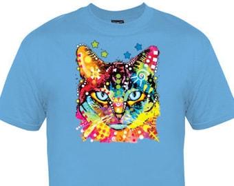Neon Cat Shirt