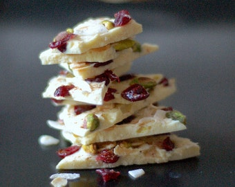 White Christmas Chocolate Bark - Perfect Stocking Filler