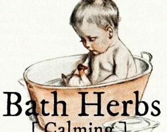 Calming Herbal Bath Soak for Children