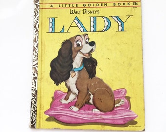 Lady and the Tramp Little Golden Book 1954