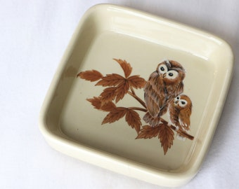 Owl Trinket Tray