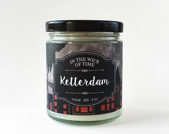 Ketterdam | Six of Crows Scented Vegan Soy Candle |