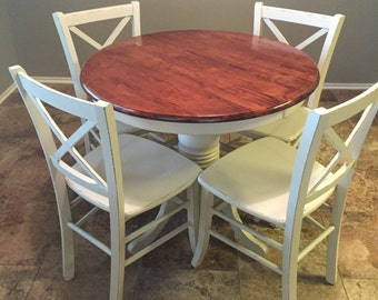 SOLD ** Custom Order | Custom Paint Request | Dinette | Dining Set | Kitchen Table