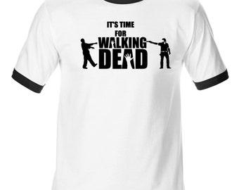 The Walking Dead Time Ringer Shirt