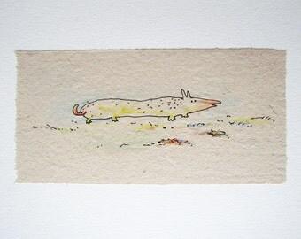 Watercolor, Unique illustration, Colored Pencil, Kids Wall Decor,  Children's art