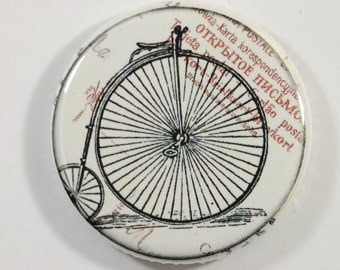 Flatback/ Bicyclette vintage