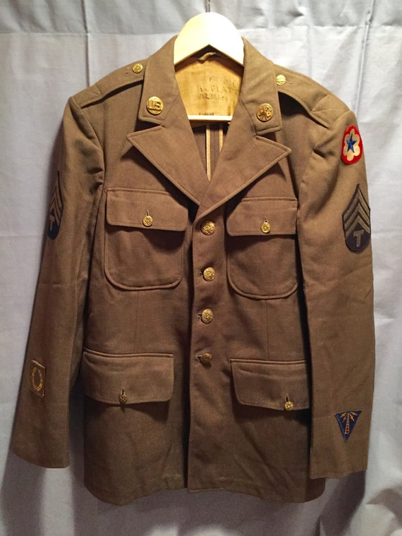 WW2 U.S Army Service Forces Signals Corps Service Tunic