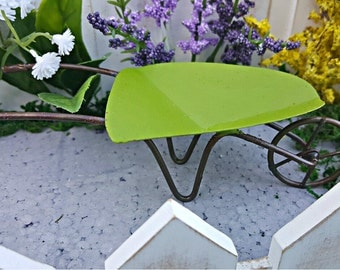 Miniature Wheelbarrow - Summer Green