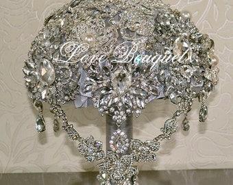 Wedding Accessories Bouquet Brooch Bouquet Bridal Wedding Bouquet Bridal Garter Bouquet Decor Gift Bouquet Wedding Decor Jewelry Gift