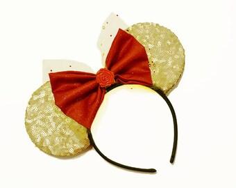 Sequin Beauty Belle Mouse Ears