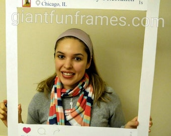 Instagram Photo Frame / Photo Props / Photo Booth