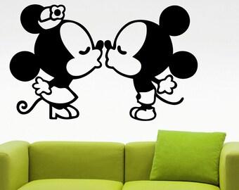 k ssen mickey mouse etsy. Black Bedroom Furniture Sets. Home Design Ideas