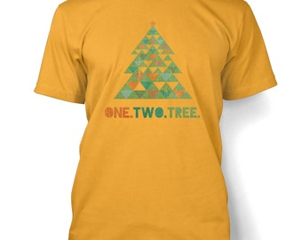 One Two Tree mens t-shirt