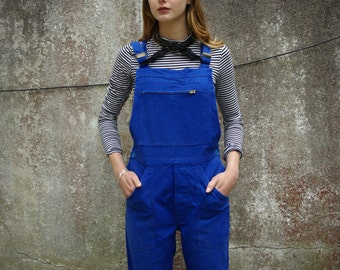 Beautiful 1960s French Workwear Dungarees Overalls